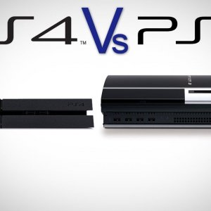 PS4 & PS3 Comparison: How Big is PlayStation 4?