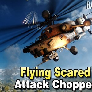 Flying Scared - Attack Helicopter Double Vision - Battlefield 4 - YouTube