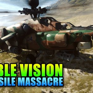 Double Vision: TV Missile Massacre, Long Range Death! (Battlefield 4 Gameplay/Commentary) - YouTube