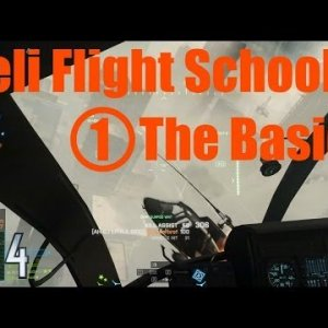 BF4 Helicopter Flight School - Part 1 'A Primer' - YouTube