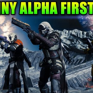 Destiny Alpha Gameplay: Halo + Diablo = Friggin Sweet! - YouTube