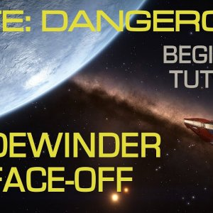 Elite Dangerous - Winning the Sidewinder Face-Off Training Mission 1, Easily | Tutorial - YouTube