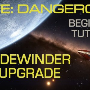 Elite Dangerous - Outfitting the Sidewinder with Power Distributor Couplings | Major, cheap upgrade. - YouTube