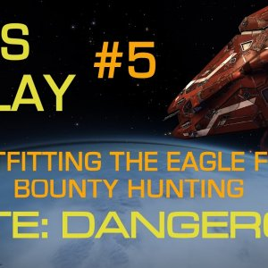 Elite Dangerous - Getting Started Step-by-Step | Let's Play #5 | Outfitting the Eagle for Hunting! - YouTube