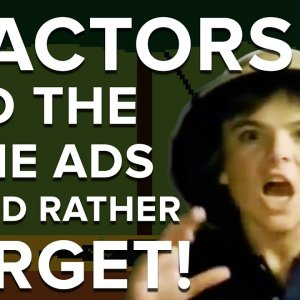11 actors and the game ads they'd rather forget - YouTube