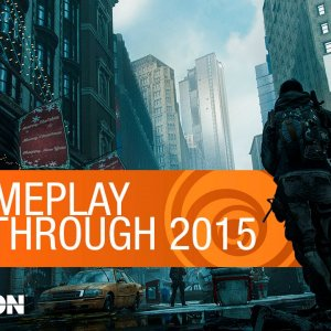 Tom Clancy's The Division Gameplay Walkthrough - E3 2015 [US] - YouTube