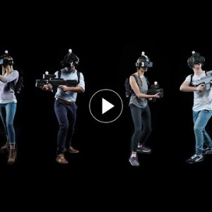 Crazy Multiplayer Free Roam VR game - You won't believe it's real - YouTube