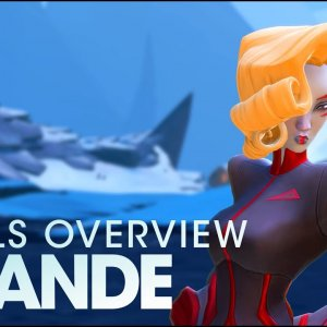 Battleborn: Deande Skills Overview - YouTube