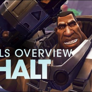 Battleborn: Ghalt Skills Overview - YouTube