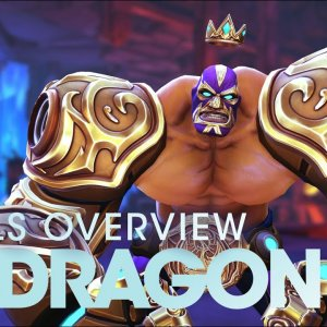 Battleborn: El Dragón Skills Overview - YouTube