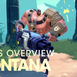 Battleborn: Montana Skills Overview - YouTube