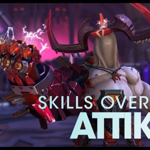 Battleborn: Attikus Skills Overview - YouTube