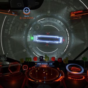Elite Dangerous - How not to exit a station - YouTube
