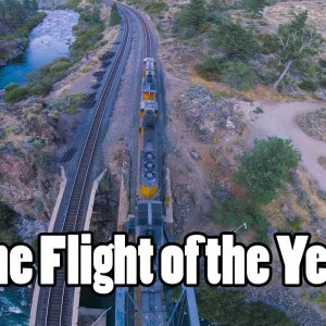 Flight of the Year // Trains, Bridges, Rapids, Mountains, Sunset, Gapping, Perching, Powerlooping - YouTube