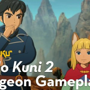 Ni No Kuni 2 - Dungeon Gameplay - YouTube