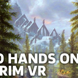 28 Minutes of  Skyrim VR Gameplay - YouTube