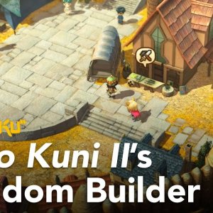 Ni no Sim Kuni 2 - city builder mode