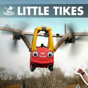 Can a Little Tikes Car FLY!? - YouTube
