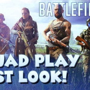 Squad Play in Battlefield 5 - First Look!! - YouTube