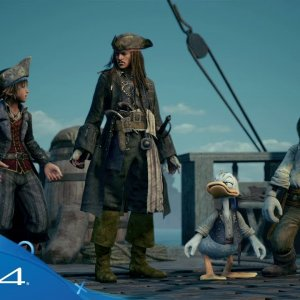 Kingdom Hearts III | E3 2018 Pirates of the Caribbean Trailer | PS4 - YouTube