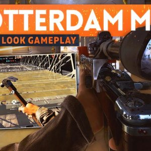 BATTLEFIELD 5 ROTTERDAM GAMEPLAY First Look! - Total Urban Warfare! (New Weapons & Fortifications) - YouTube