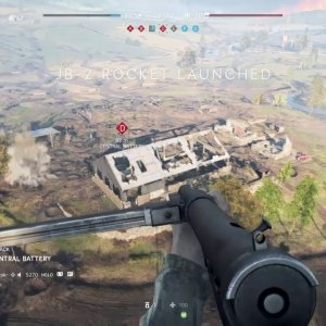 Battlefield V - Flying Rocket Man - YouTube